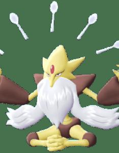 Mega alakazam also pokemon let   go pikachu eevee evolution rh serebii