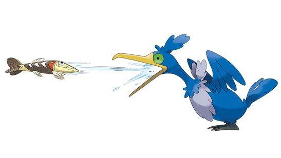 Unnamed Fish Pokémon
