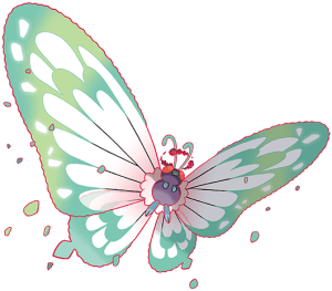 Gigantamax Butterfree Artwork