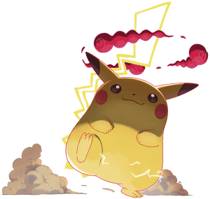 Gigantamax Pikachu Artwork