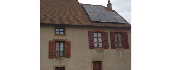 Système de 3,3kWp sur une maison en Côte d'Or