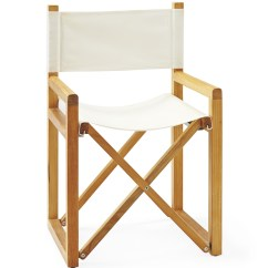 Directors Chair White Simply Bows And Covers Cumbria Director 39s Serena Lily