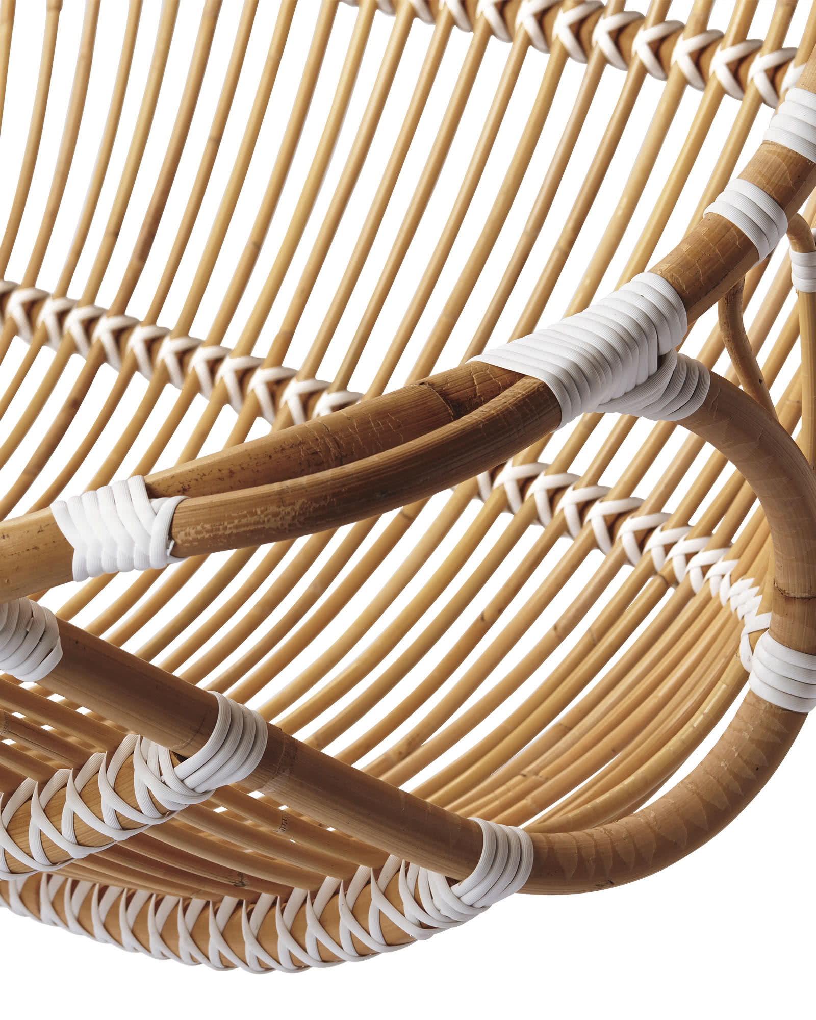 hanging chair double reclining and ottoman rattan chairs serena lily