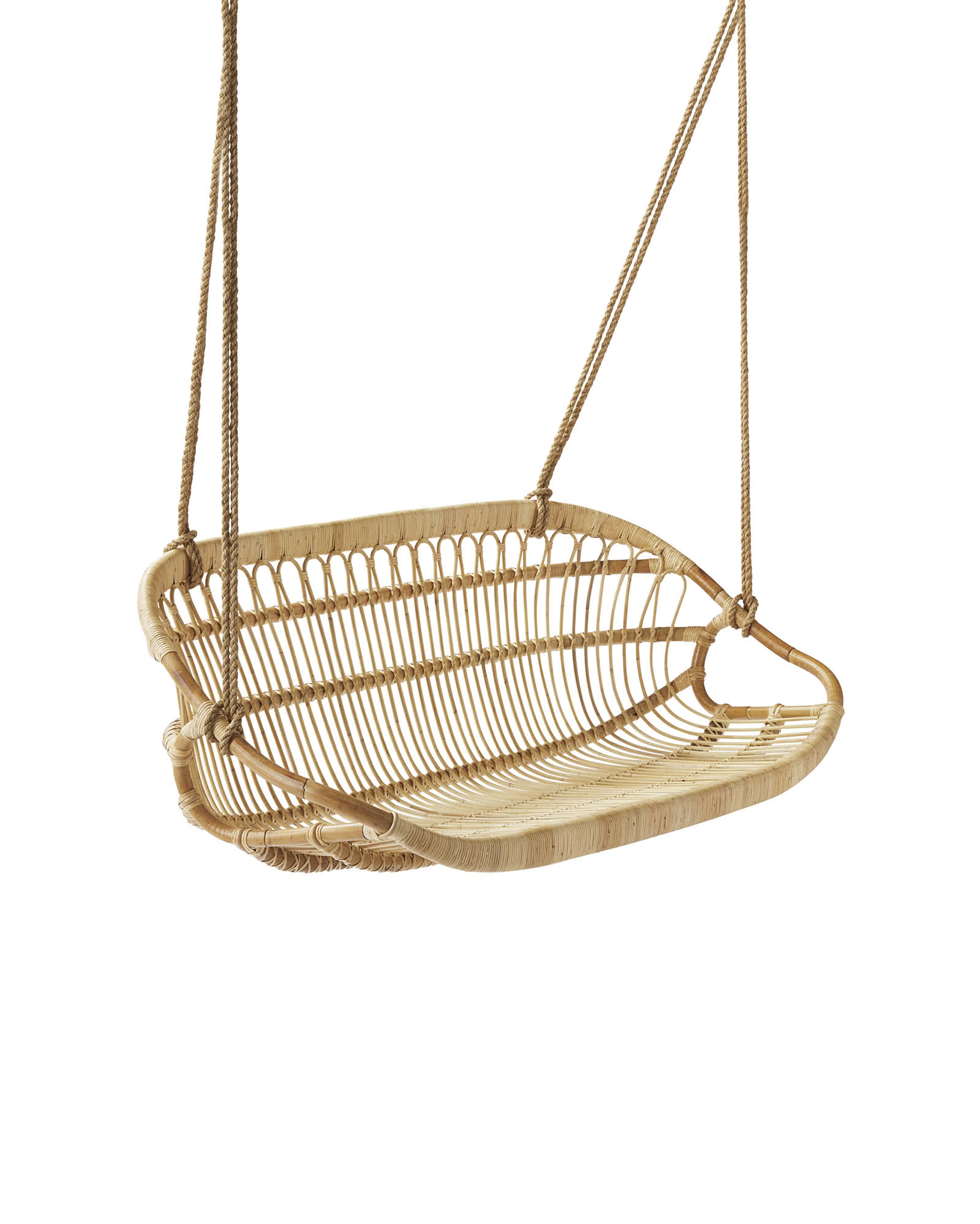 hanging chair next white directors chairs rattan bench serena and lily