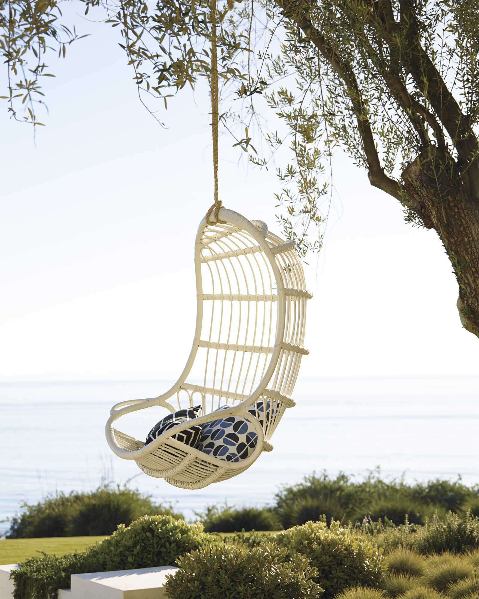 serena and lily hanging chair tempur pedic office tp4000 reviews rattan chairs