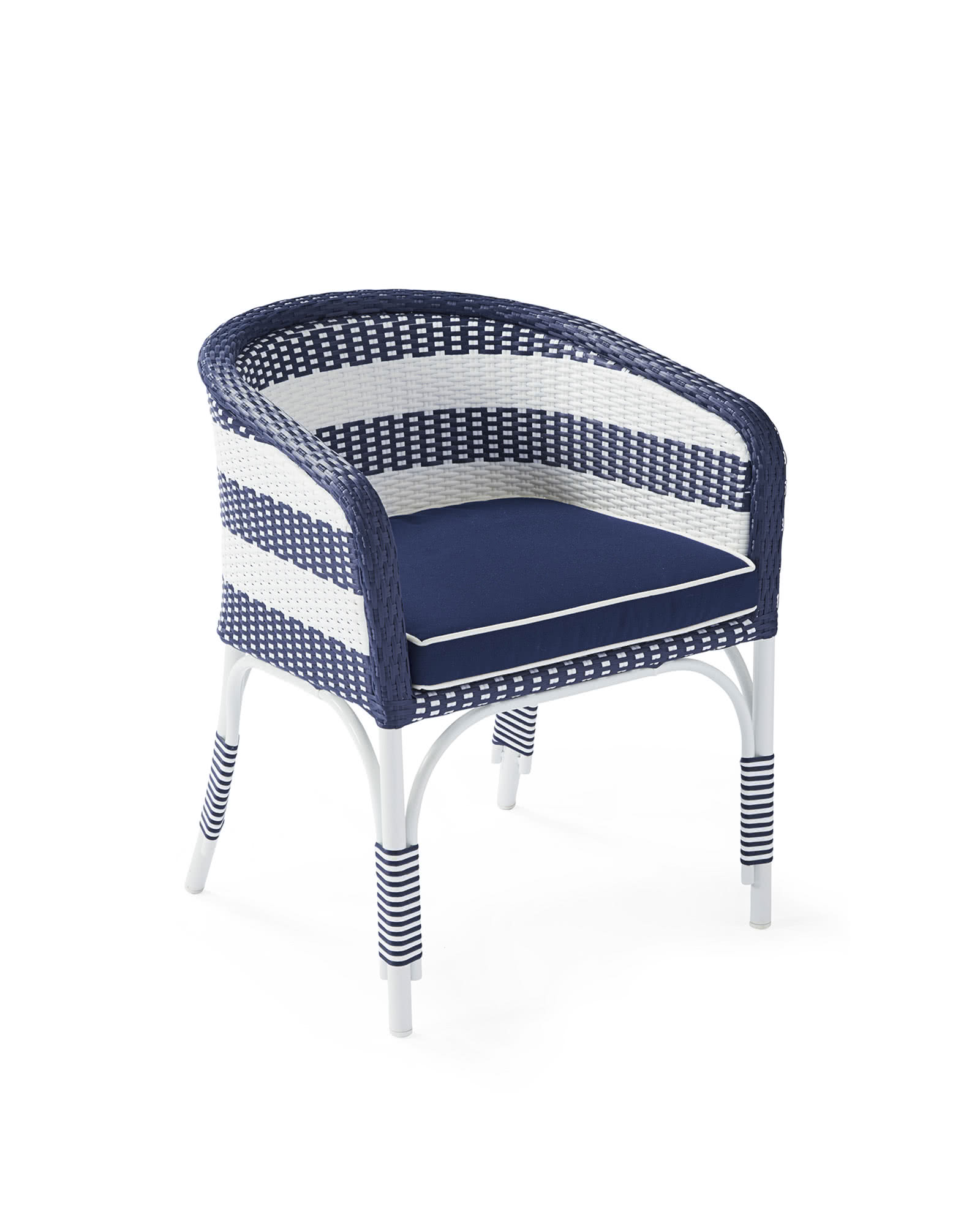 white bucket chair posture plus seat riviera outdoor serena and lily
