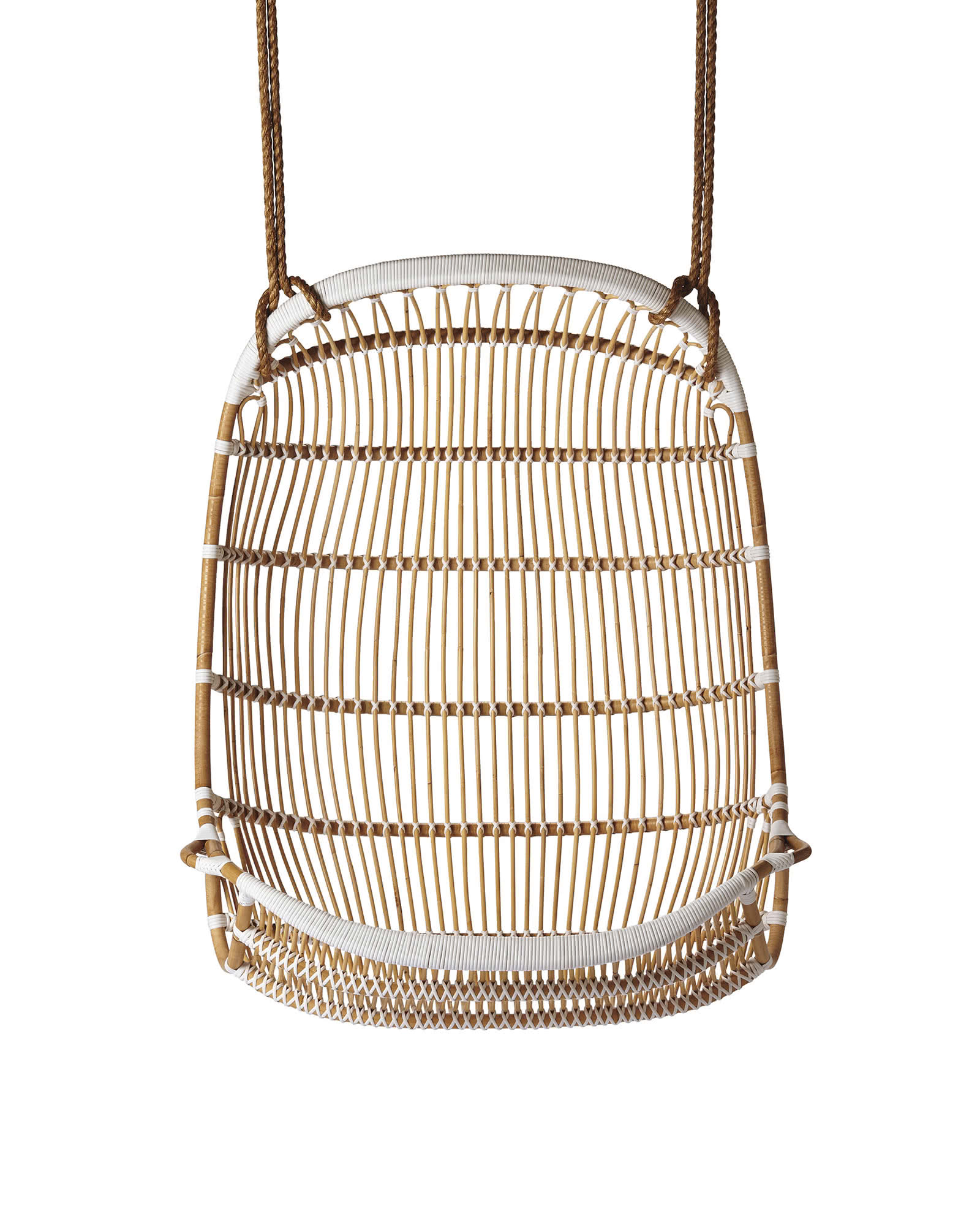 scandinavian design chair covers camp reviews double hanging rattan - chairs | serena and lily