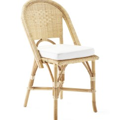 Basket Weave Dining Chairs Childrens Wooden Rocking Chair Riviera Side Natural Serena And Lily