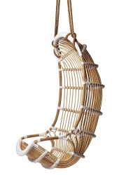 Double Hanging Rattan Chair - Chairs | Serena and Lily