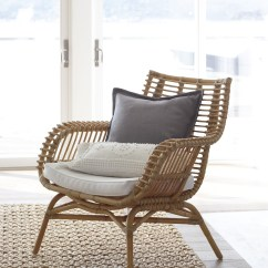 Rattan Arm Chair High Dining Chairs Twisted Abaca Rug Serena And Lily