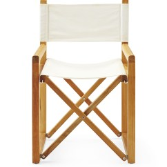 Directors Chair White Recliner Chairs Cheap Director 39s Serena And Lily