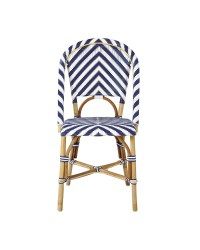 Chevron Riviera Side Chair - Chairs | Serena and Lily