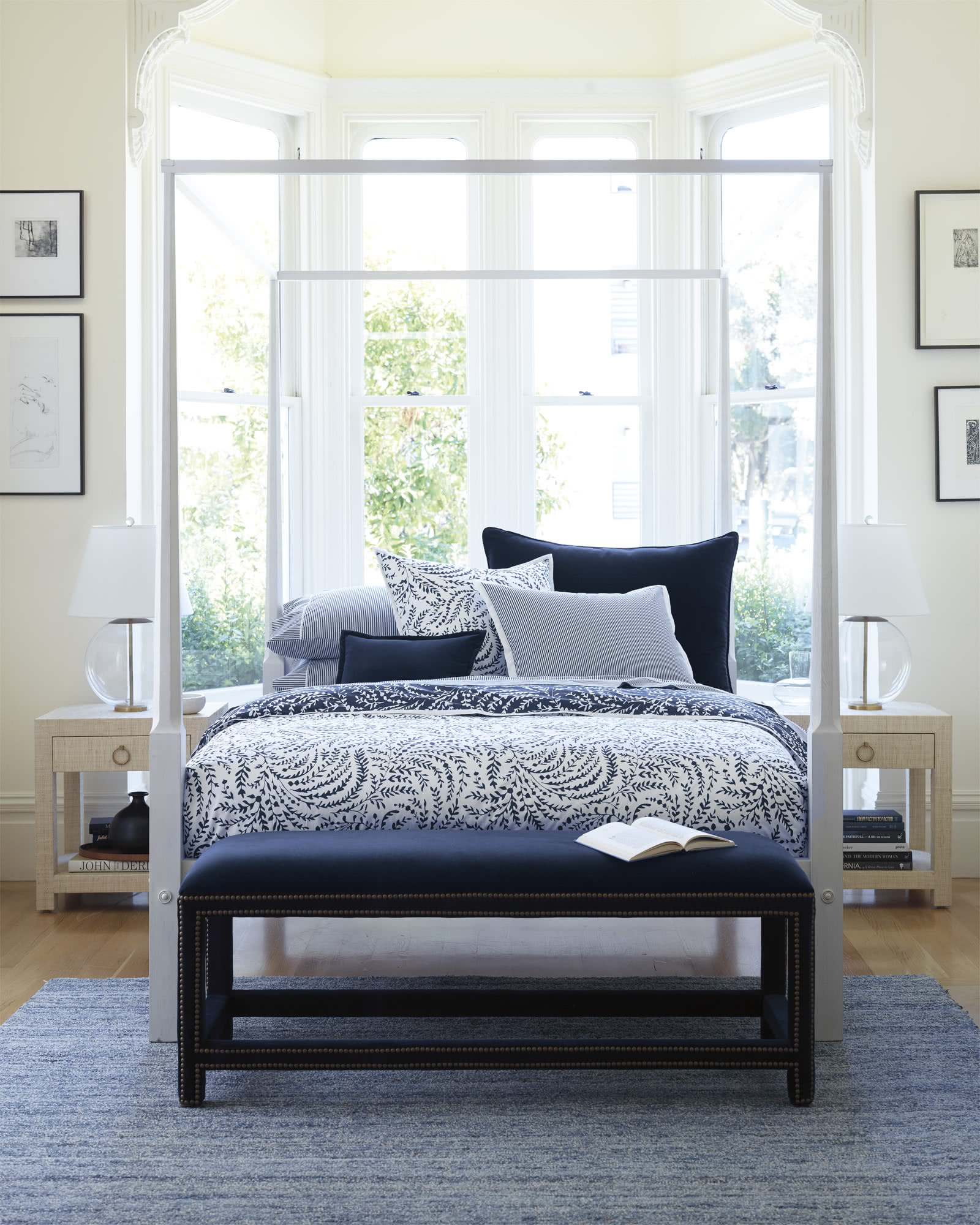 Whitaker Four Poster Bed  Serena  Lily