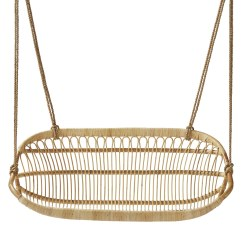 Hanging Chair Serena And Lily Covers Tall Rattan Bench