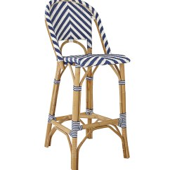 Chair Stool Covers Garden Oasis Patio Chairs Chevron Riviera Stools - | Serena And Lily