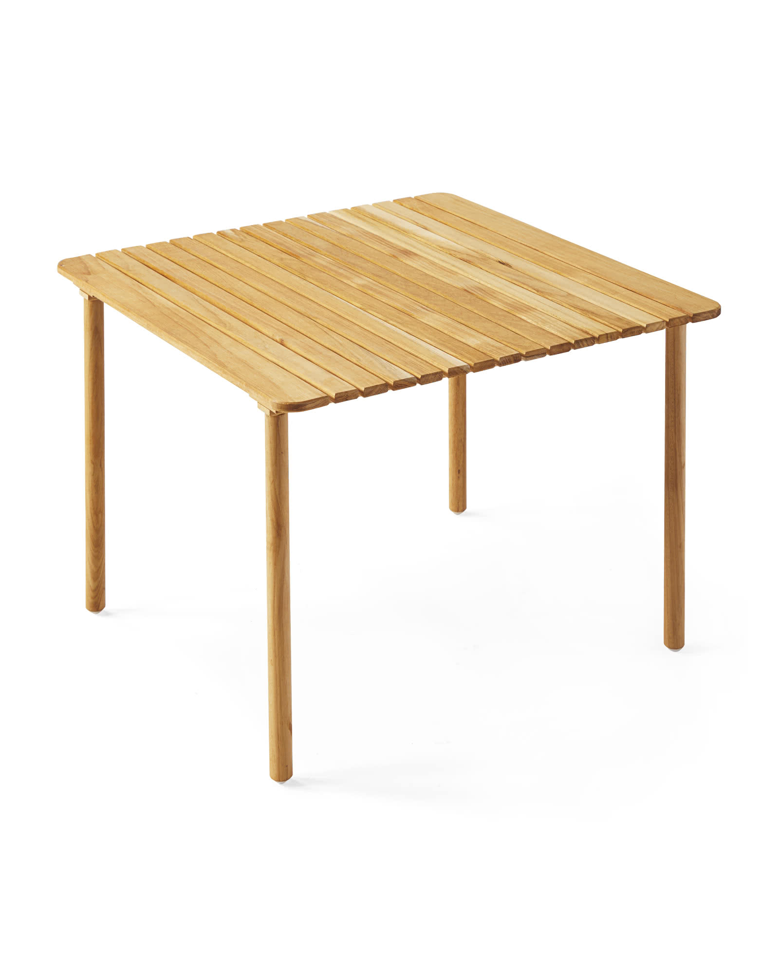 beach teak folding table