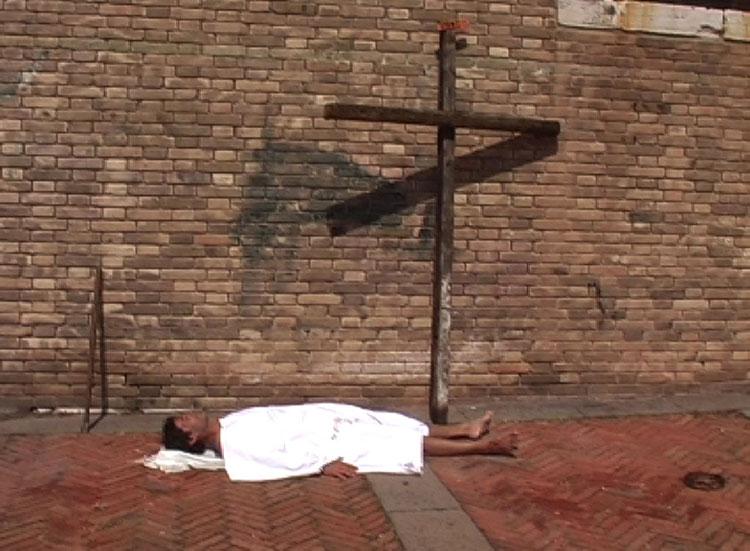 Via della Croce - set