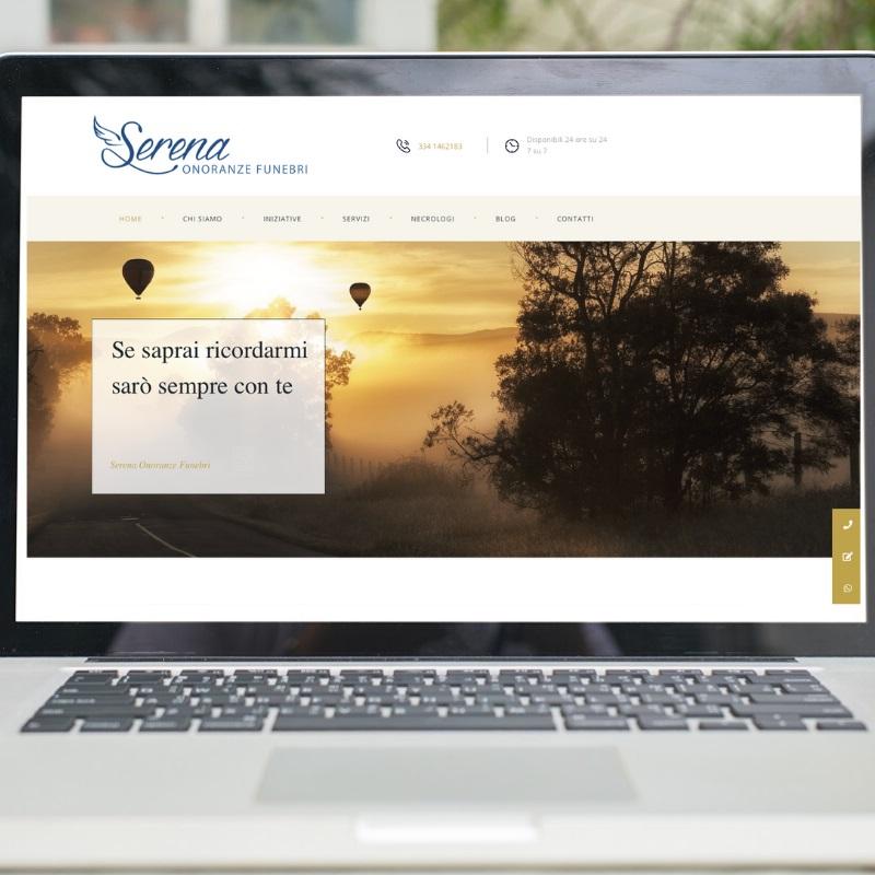 Il nuovo sito web di Serena Onoranze Funebri: più funzionalità e servizi