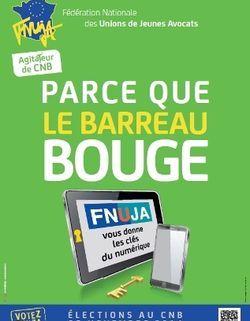 Affiche FNUJA