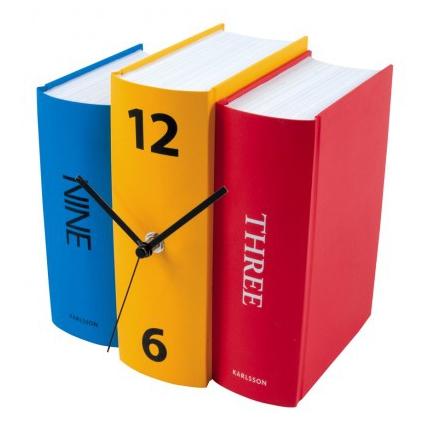 Horloge Book Karlsson