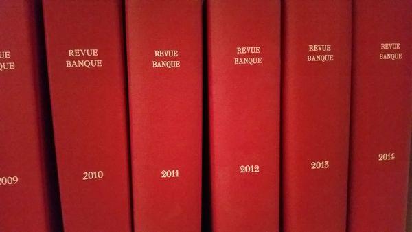Reliure Revue Banque