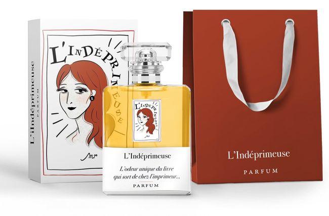 Odeur de livre by L'Indéprimeuse