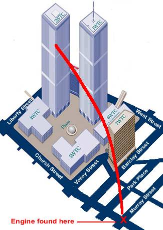 diagram parts of a church 97 ford explorer stereo wiring what hit wtc2? another look at the second plane