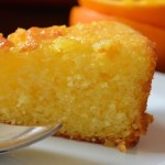 Torta vegana all'arancia