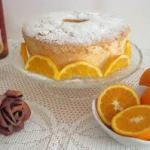 Angel cake agli agrumi