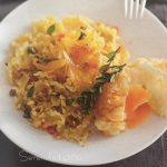 Pasta con uova e bottarga
