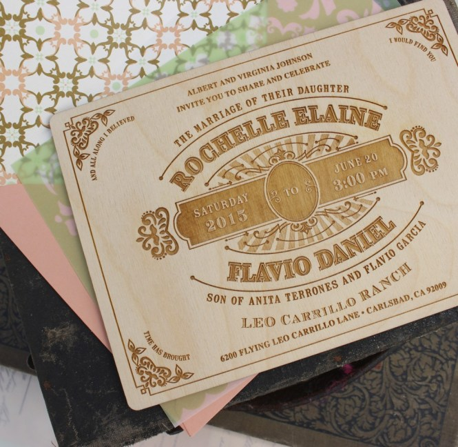 Engraved Wedding Invitations To Bring Your Dream Invitation Into Life 5