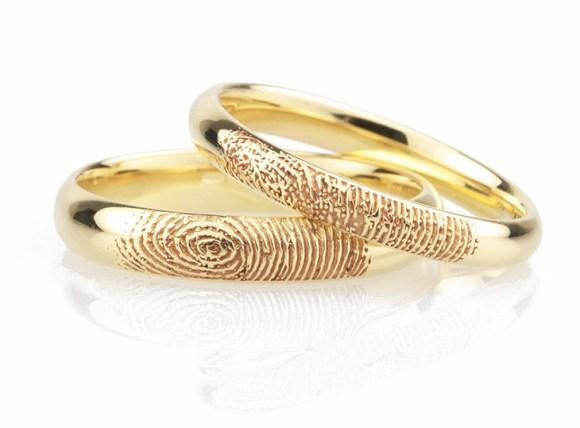 Fingerprints guarantee rings -