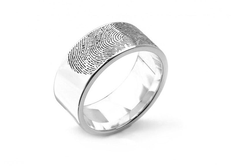 Fingerprint Wedding Rings In 5 Easy Steps