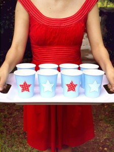Decorated Drink Cups