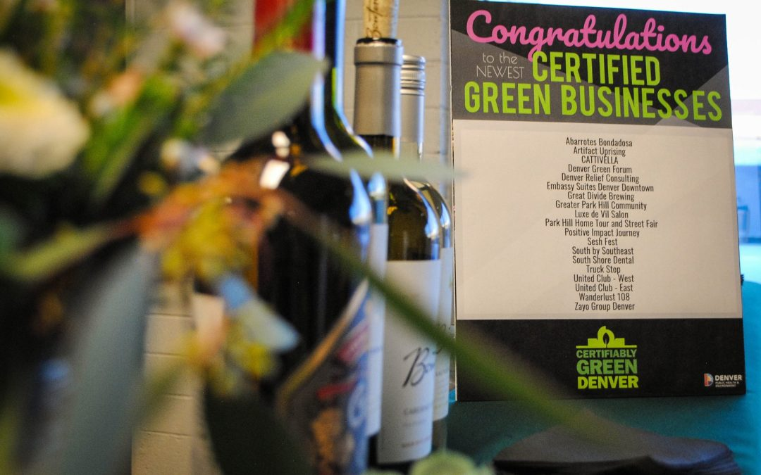 January: Certifiably Green Denver Month