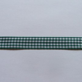 Gingham Hunter Green