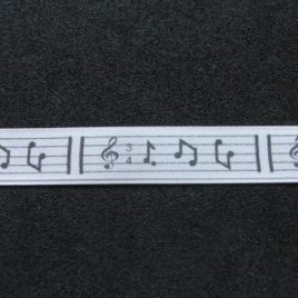 Musical Notes 15mm Width