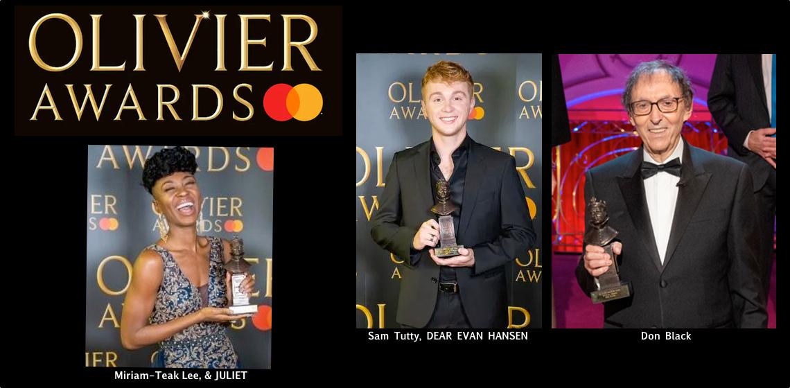 Premios Olivier 2020