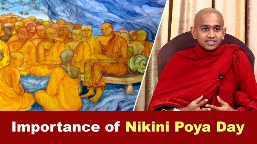 Importance of Nikini Poya Day