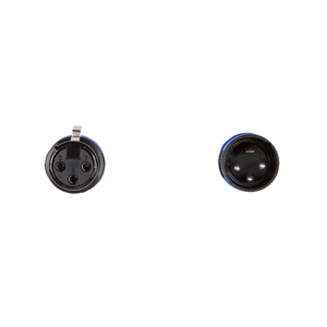 3 pin XLR plug