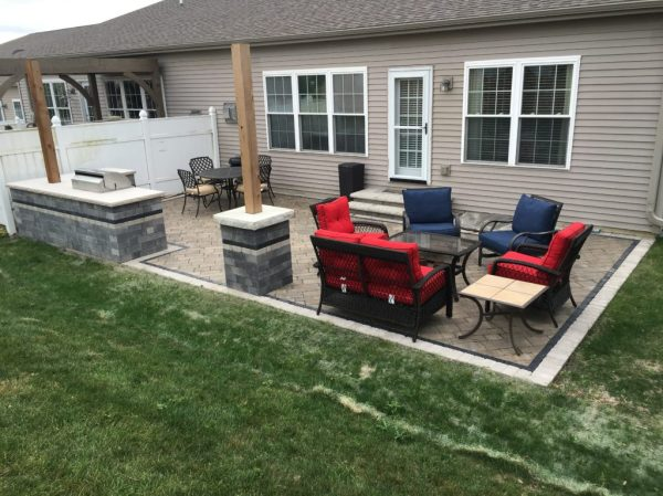 condo patio rebuild - serenity