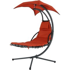 Black Wicker Rocking Chair Outdoor Pool Accessories Sunnydaze Floating Chaise Lounger Swing With Canopy