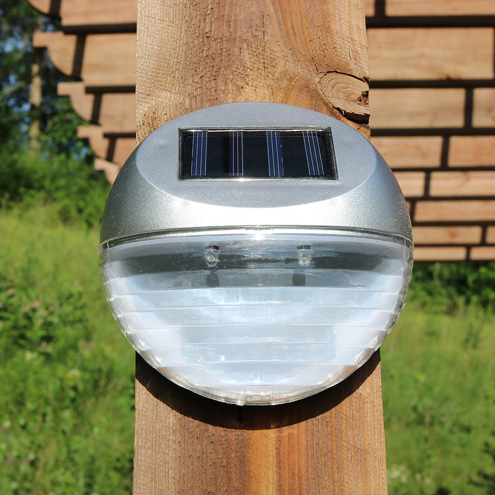 Fence Mounted Solar Lights