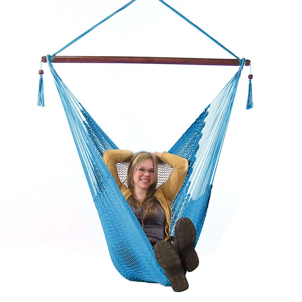 hanging hammock chair for teenager sunnydaze caribbean extra large