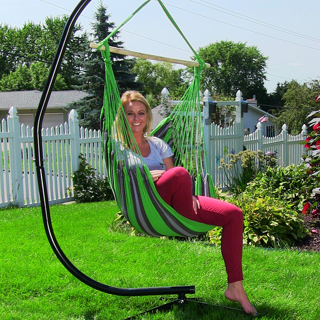 hanging lawn chair world market reading hammock swing for indoor outdoor use max