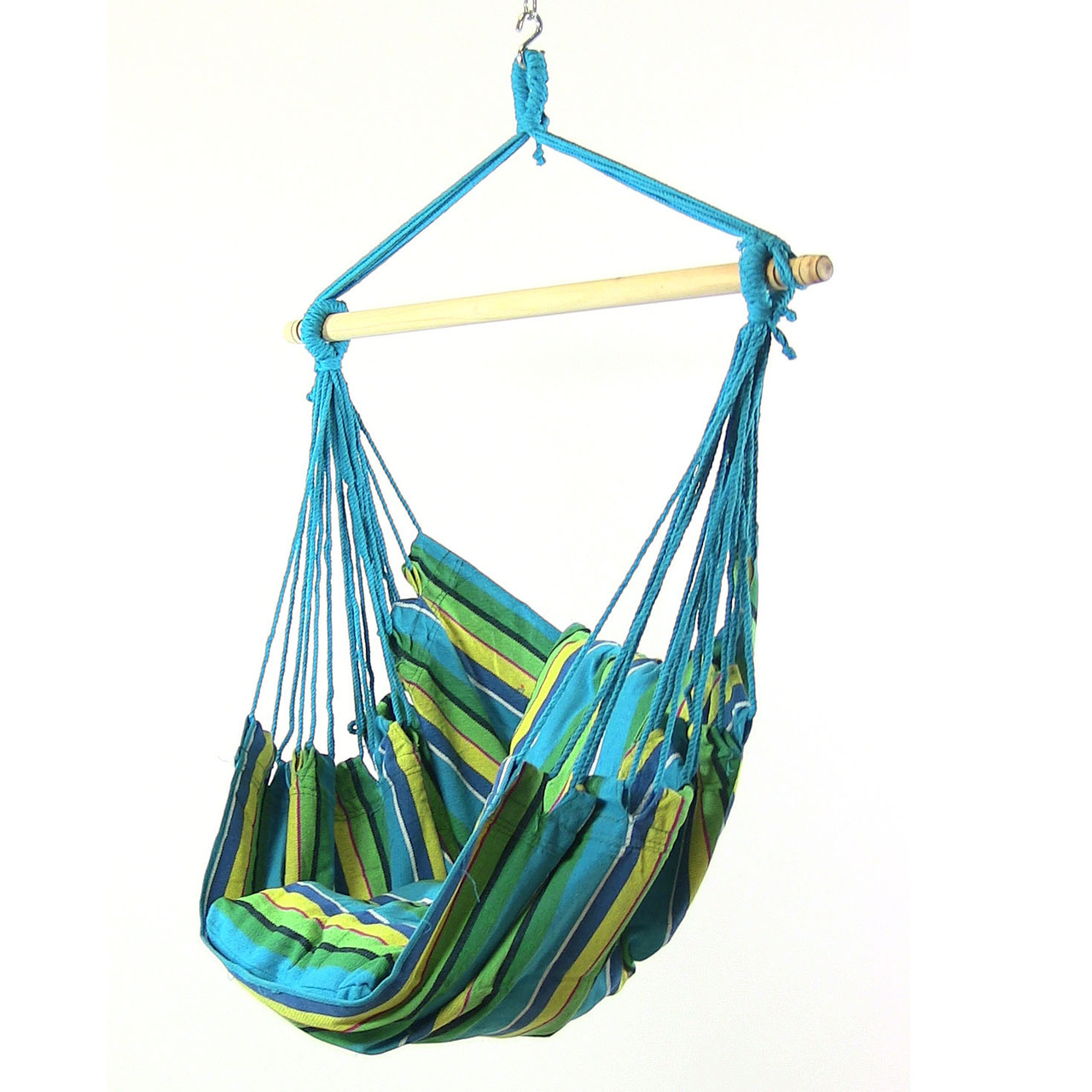 swing hammock chair indoor padded high cover hanging for outdoor use max