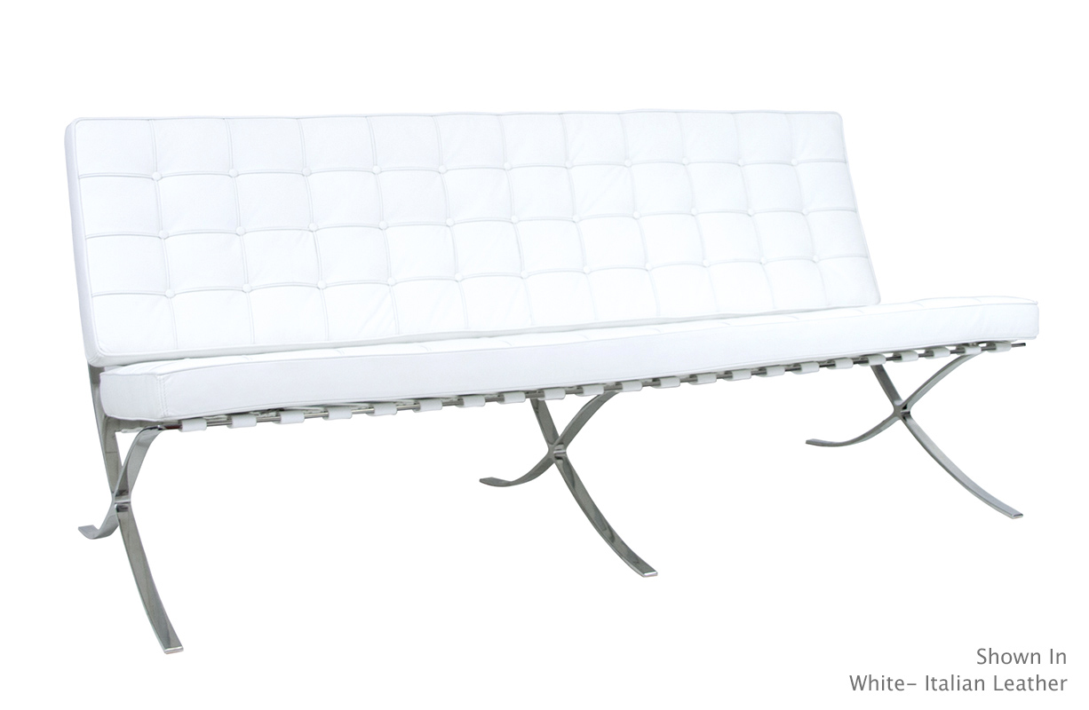 barcelona chair style couch most expensive massage in the world sofas 2 seater sofa thesofa