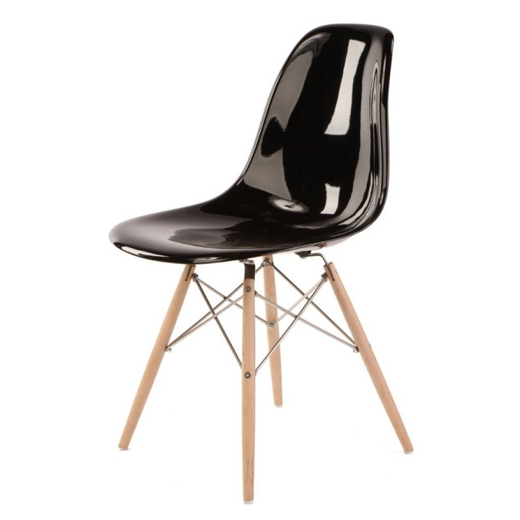 black eames chair chaise lounge outdoor dsw replica modern furniture serenity living