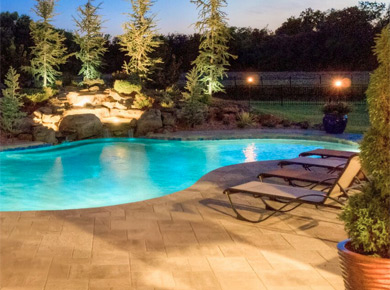 swimming pool design landscaping in