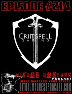 Ritual Madness Podcast Grimspell Gaming